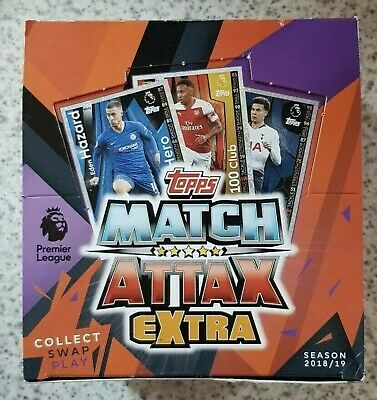 Match Attax Extra 2018/19 100 Clubs Hat-Trick Hero Limited Edition Mint