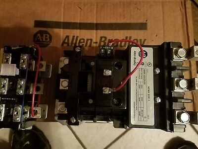 New Allen Bradley Size 3 Starter 500Fdod930 With 592-Eutd Overload