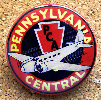 1934 American Airlines Design Button Pin Back Modernist Mid-Century Deco #20