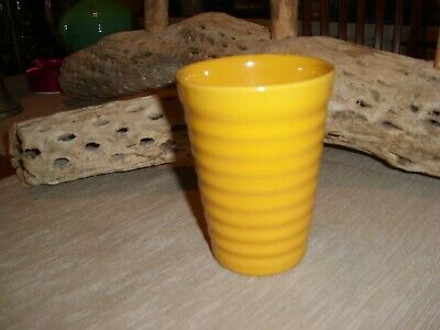 Vintage Bauer Pottery Ringware Chinese Yellow 12 Ounce Tumbler