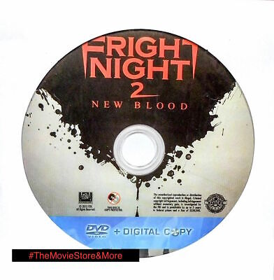 Fright Night 2: New Blood (DVD, 2013, Unrated) *Disc Only-NO CASE *Free Ship! ~
