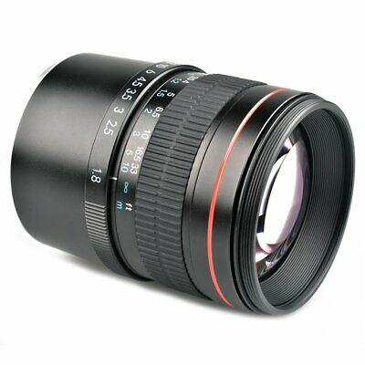 85mm F1.8 Medium Telephoto Portrait Full Frame E Mount Lens for Sony QJ