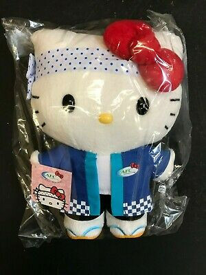 Hello Kitty Sanrio AFC 30th Anniversary Collectible Sushi Chef Plush Doll 10""
