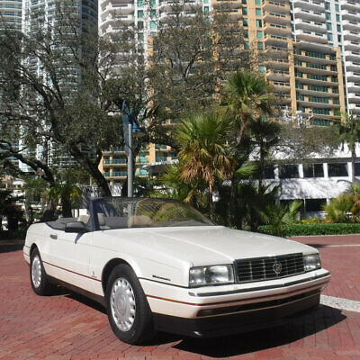 1993 Cadillac Allante' Diamond White Northstar Florida Diamond White 1993 Cadillac Allante Digital Dash Low Miles Northstar V8