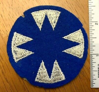 e91f41d2541ce4 US Vintage Insignia 48th Infantry Ghost Division Wool Felt Patch World War  II