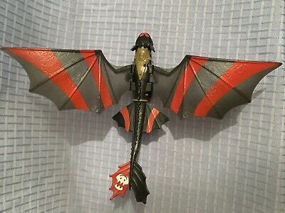 How To Train Your Dragon 2 Action Figure Toothless Night Fury Racing Stripes