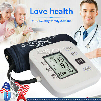 Voice Blood Pressure Monitor + Finge Tip Pulse Oximeter Blood Oxygen Bluetooth