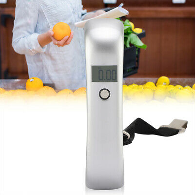 50kg Portable LCD Digital Hanging Luggage Scale Travel Electronic Weight Strap