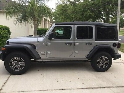 2018 Jeep Wrangler Wrangler unlimited JL Sport 2018 Jeep Wrangler Unlimited JL sport