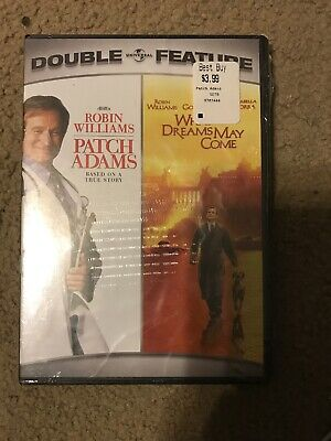 Patch Adams & What Dreams May Come ~ BRAND NEW 2-DISC DVD SET (Robin Williams)