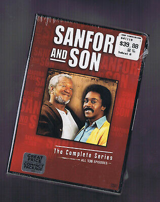 SANFORD AND SON COMPLETE SERIES Seasons 1-6 (DVD) NEW / SEALED FREE S/H