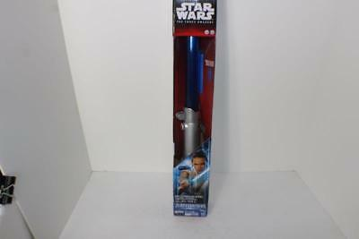 NEW Star Wars Return of The Jedi Rey Starkiller Base Electronic Lightsaber BLUE