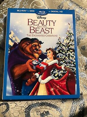 Beauty and the Beast The Enchanted Christmas (Blu-ray/DVD)W/Slipcover