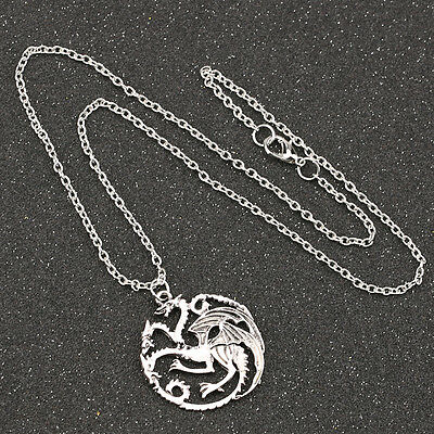 Game Of Thrones Dragon Necklace Song Of Ice And Fire Vintage Targaryen