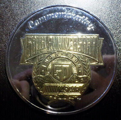 NASCAR 50th Anniversary 6 oz .999 silver round Fans Country Rivalries Legends