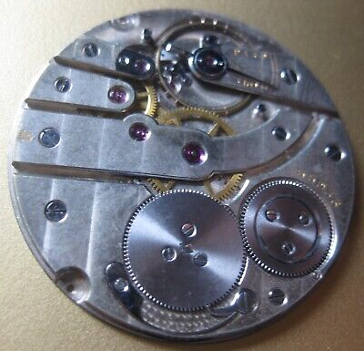 Haas or cartier  Open Face Very Thin Pocket movement signed with geneve stamp