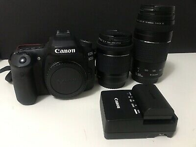 Canon EOS 80D Dslr With 18-55mm and 70-300mm Ef-s Lens