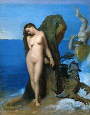 Jean Auguste Dominique Ingres Perseus And Andromeda Artist Painting Reproduction