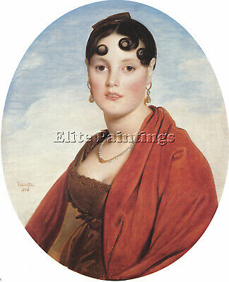 Jean Auguste Dominique Ingres Madame Aymon Artist Painting Reproduction Handmade
