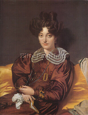 Jean-Auguste Dominique Ingres Madame Marie Marcotte Artist Painting Reproduction