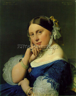 Jean Auguste Dominique Ingres Ramel Artist Painting Reproduction Handmade Oil