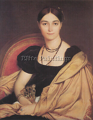 Jean-Auguste Dominique Ingres Madame Duvaucey Artist Painting Reproduction Oil