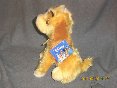 """Disney Plush Lady And The Tramp Girl Dog 11"""" Cocker Spaniel Toy Factory Card 3+"""