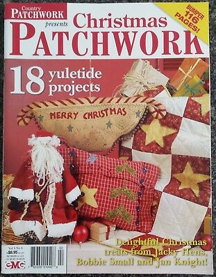 Country Patchwork Presents Christmas Patchwork Magazine Vol.8 No.6  18 Projects