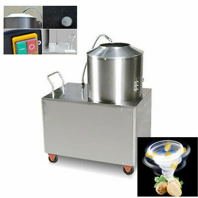 Automatic Potato Peeler Washer Potato Peeling Washing Machine 15-20kg/time Store