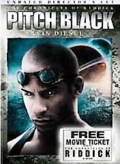 Pitch Black (DVD, 2004, Unrated, Directors Cut, Widescreen Edition) Like New