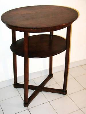 Exceptional Table Fitted Thonet By Josef Hoffmann 1900 - 1905 / Sezessionsstil