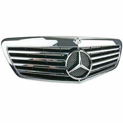 Front Chrome Sport Grille For Mercedes Benz W221 S-Class Saloon Facelift 2009-13