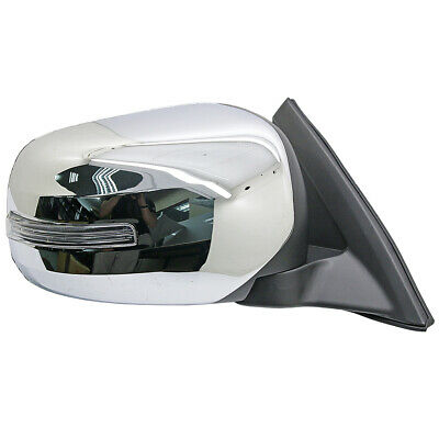 Chrome Door Wing Mirror Right RH 5P w/ LED For Mitsubishi L200 Pickup 2005-2014