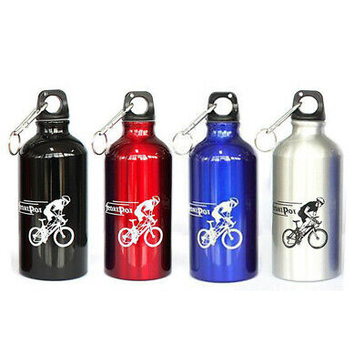 Water Bottle Portable Outdoor Sports Bicycle Hiking Buckle Camping High Quality