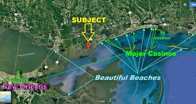 New Orleans Area Canal Frontage Property Leading to Gulf of Mexico