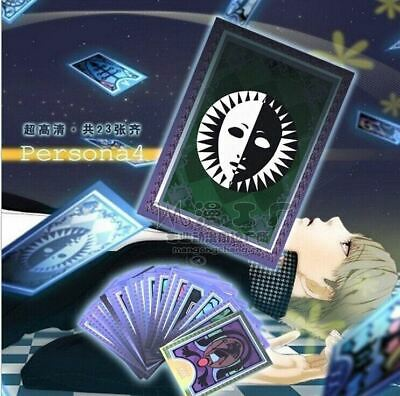 Hot Persona 4 Arena Ultimax Tarot Cards Game 23 Cards 1 Set Cosplay Collection