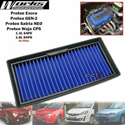 Works Engineering High Flow Air Filter Kit For Proton Impian GEN2 1.3 1.6 CamPro