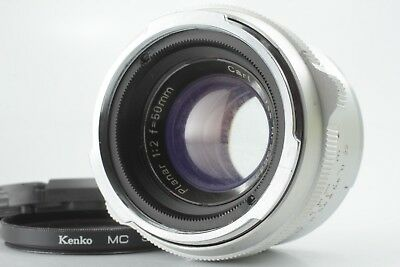 【VERY GOOD】Carl zeiss Planar 50mm f2 Lens for Contarex From Japan #330