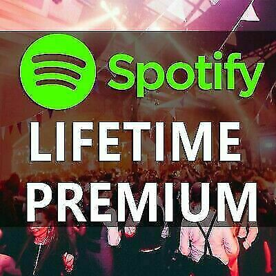 **SPOTIFY PREMIUM ACCOUNT  MUSIC FOR EVERYONE ** LIFETIME warranty Worldwide