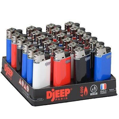 24 x Djeep Classic Lighters w/ Tray, Brand New, Same Day Express Shipping
