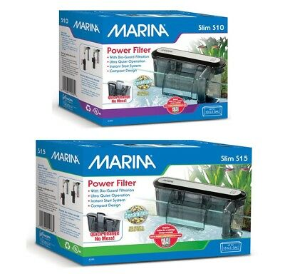 Marina Slim Filter For Aquariums up to S10/38L or S15/57L