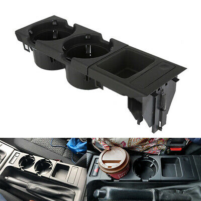 Center Console Cup Holder Coin storage tray for BMW E46 323 325 328 Black MA1777