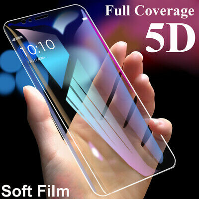360° Full Cover Soft Film Protector for Samsung Galaxy S7 S8 S9 S10 Plus Screen