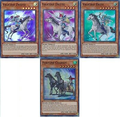 Valkyrie Budget Deck - Ride of the Valkyries  - Dritte - Yugioh - 42 Cards