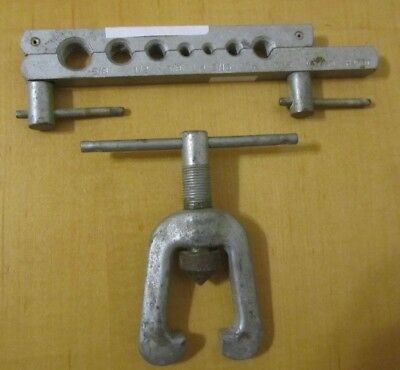 """G861 Vtg Flaring Tool Western Auto Wizard 3/16"""" to 5/8"""" H4781, 2 Pc REDUCED!!"""