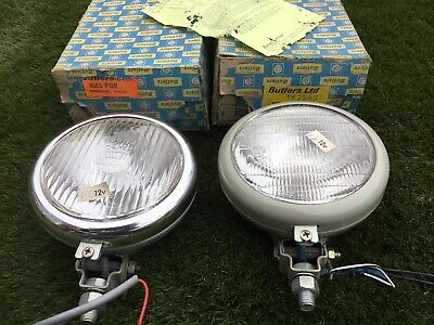 2 Nos Butlers Tractor Lights Fordson Supermajor Dextra + A Used One For Spares