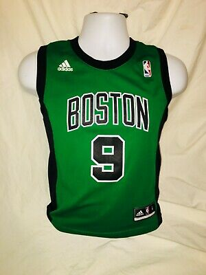 on sale 8cb11 fe9b2 RAJON RONDO BOSTON Celtics Adidas Youth Jersey Size Small Green Black NBA