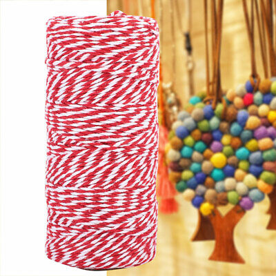 Gift 100m/roll 100% Cotton Double Color Thread DIY Sewing Handicraft Accessories