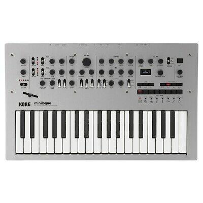 Korg Minilogue Analogue Polyphonic Synth & Sequencer