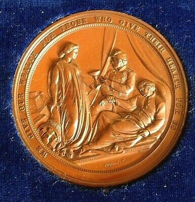 1864 U.S. Sanitary Commission Medal: Great Central Fair, Philadelphia
